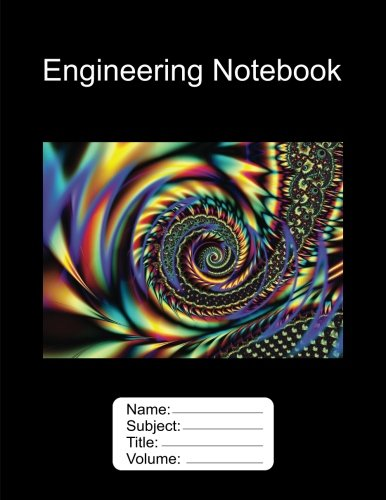 9781537461489 engineering notebook 8 5 x11 100 pages graph paper