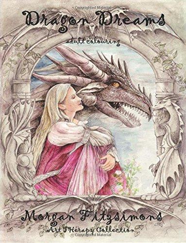 9781537465487: Dragon Dreams Colouring Book: Art Therapy Collection (Volume 3)
