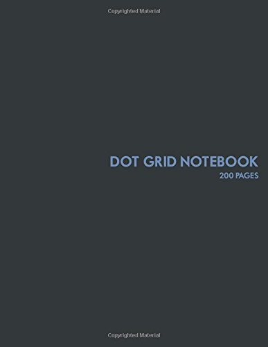 9781537478401: Dot Grid Notebook: 200 pages: Perfect for student, professional, home or office use.