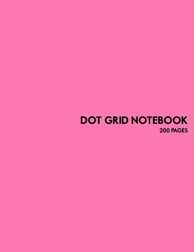 9781537478869: Dot Grid Notebook: 200 pages: Perfect for student, professional, home or office use.