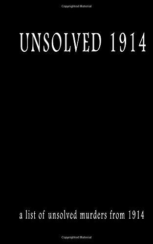 Unsolved 1914 (Paperback): MR Pat Finn