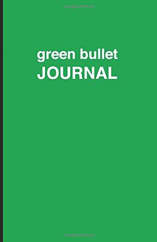 9781537487922: Green bullet Journal - Cuaderno de puntos verde: Tapa blanda, 14 x 21 cm, 200 paginas