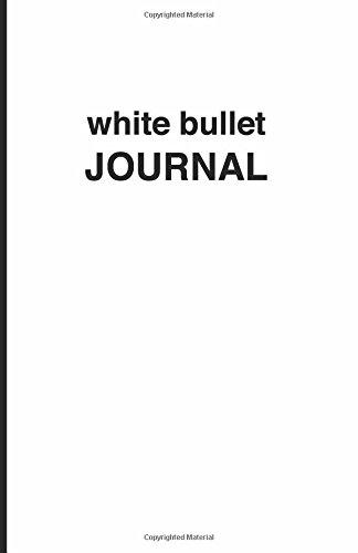 9781537488400: White bullet Journal - Cuaderno de puntos blanco: Tapa blanda, 14 x 21 cm, 200 paginas (Spanish Edition)