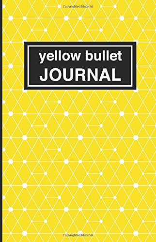 9781537489353: Yellow bullet Journal: Soft Cover, 5.5 x 8.5 inch, 200 pages