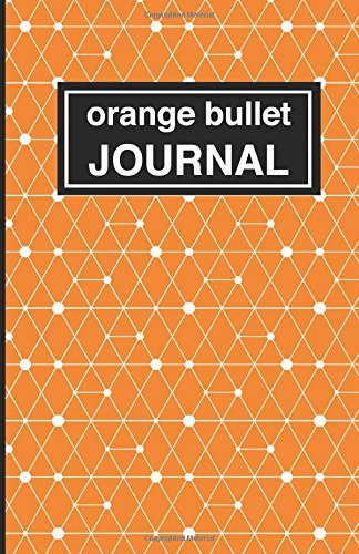 9781537489438: Orange patterned bullet Journal: Soft Cover, 5.5 x 8.5 inch, 200 pages