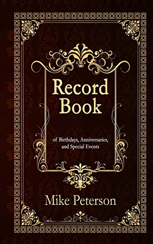 Record Book: of Birthdays, Anniversaries, and Special Events (Pocket Edition) (Birthday Tracker &...