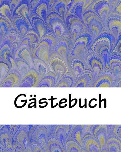 9781537522371: Gästebuch: blanko weiß mit kleiner Feder, 50 Seiten (German Edition)