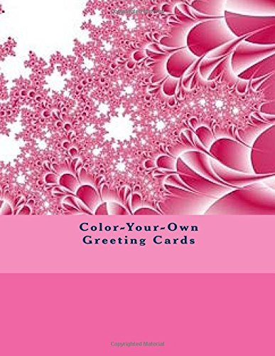 9781537529905: Color-Your-Own Greeting Cards: DIY Stationery Cards
