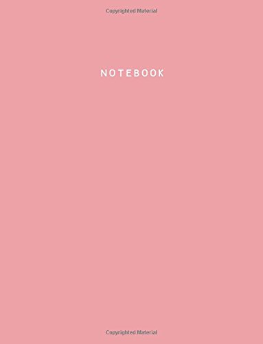 9781537532288: Notebook: Pink Icing, Lined, Soft Cover, Letter Size (8.5 x 11) Notebook: (Journal, Large Composition Book)