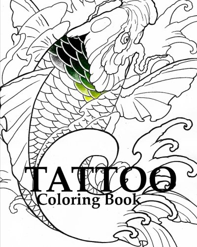 9781537538068: Tattoo Coloring Book