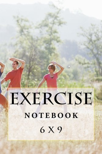 9781537596143: Exercise Notebook: 6 x 9