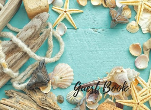 Guest Book: Wedding Guest Book Beach Theme, Suitable For Weddings & Other Uses. Free Layout To ...