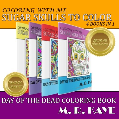 9781537612829: Sugar Skulls and More To Color - Boxed Set: Day of The Dead Coloring Book