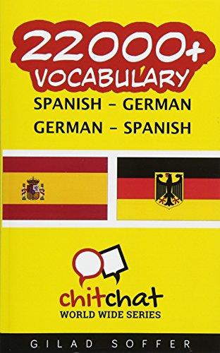 9781537632803: 22000+ Spanish - German German - Spanish Vocabulary (Spanish Edition)