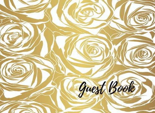 9781537650784: Guest Book: Golden Event, Wedding, Birthday, Anniversary. Celebration, Party Guest Book. Free Layout. Use As You Wish For Names & Addresses, Sign In, Advice, Wishes, Comments, Predictions. (Guests)