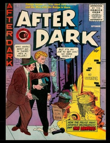 9781537662282: After Dark #8: Golden Age Detective-Mystery Comic 1955