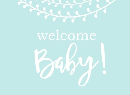 9781537670904 welcome baby modern baby shower guest book with