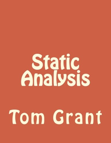 9781537672434: Static Analysis