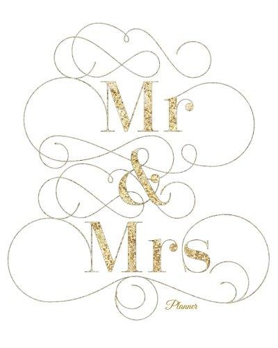 9781537677170: Mr & Mrs Planner: Gold Design   My To Do List