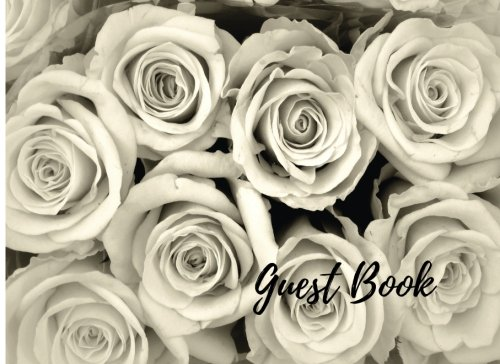 9781537677354: Guest Book: Unlined, Blank, Celebration Of Life, Condolence Book. Wake, Memorial Service, Church, Funeral Home Remembrance Empty Guest Book. (Guests)