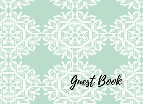 Guest Book: Unlined Wedding Guest Book, Blank,: Journals For All