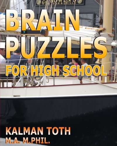 9781537690308: Brain Puzzles For High School
