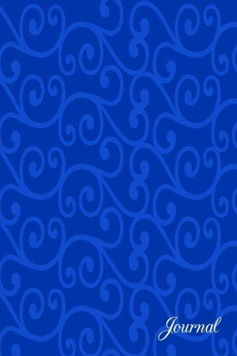 9781537719146: Journal: Blue swirls notebook
