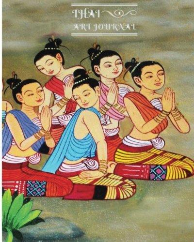 9781537746814: Thai Art Journal Writing: Beautiful Journals, Lined Journal, Diary Notebook (Blank Book Journals) (Volume 8)
