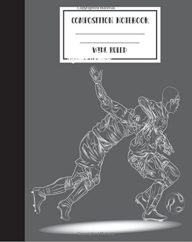 9781537770888: Wide Ruled Composition Notebook Basketball Sports