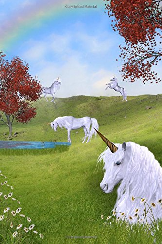 9781537779744: Unicorn Pasture Journal: 150 page lined notebook/diary