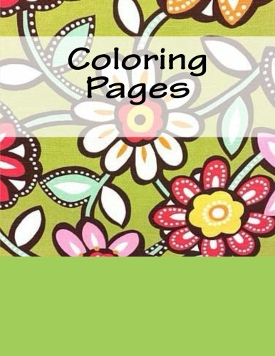 9781537787121: Coloring Pages: Coloring Books for Adults