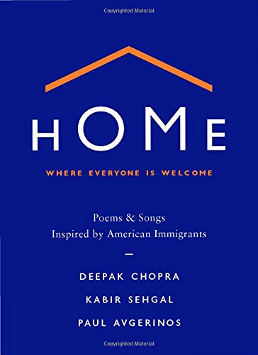 Home 9781538761007 NATIONAL BESTSELLER The United States is composed of and built by immigrants, and it has been a beacon to those in search of a new life for hundreds of years. HOME is a collection of thirty-four poems and twelve songs inspired by a diverse group of immigrants who have made significant contributions to the United States. From Yo-Yo Ma to Audrey Hepburn, Albert Einstein to Celia Cruz, these poems symbolize the many roads that lead to America, and which we expect will continue to converge to build the highways to our future. This unique collaboration takes the form of a keepsake book, with a CD of beautiful original music tucked inside. An audiobook edition in which Deepak Chopra reads the poems is also available, as a digital download. This hardcover book (with accompanying music CD) and digital-only audiobook will be available simultaneously. Offering a welcoming feeling intended to inform our cultural conversation and enhance our national dialogue, HOME has twelve accompanying musical pieces that serve as personal meditations on the essence of home, in which you can reflect upon where you feel most welcome, whether a place or state of mind. Written and composed by immigrants and first generation Americans, HOME provides a stronger sense of welcome and belonging for everyone.