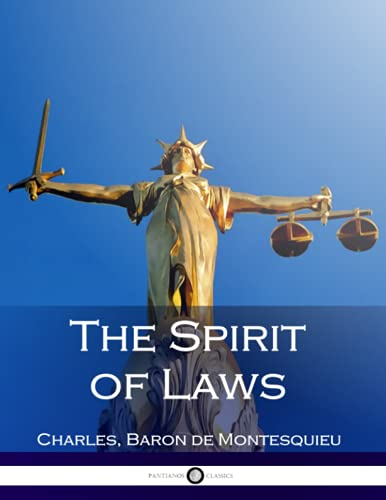 9781539005735: The Spirit of Laws