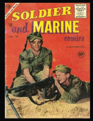 9781539013303: Soldier and Marine Comics #14: Golden Age War Comic 1955