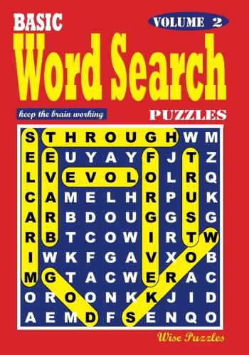 9781539021070: BASIC Word Search Puzzles, Vol. 2 (Volume 2)