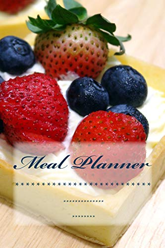 9781539041443: Meal Planner: Weekly Menu Planner with Shopping List and Bonus Blank Recipe Templates (Menu Planner, Meal Planner, Journal, Food Journal)