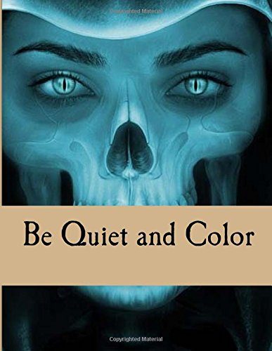 9781539045663: Be Quiet and Color: Soothing Adult Coloring Book for Meditation and Relaxation, Swear Words Coloring Book