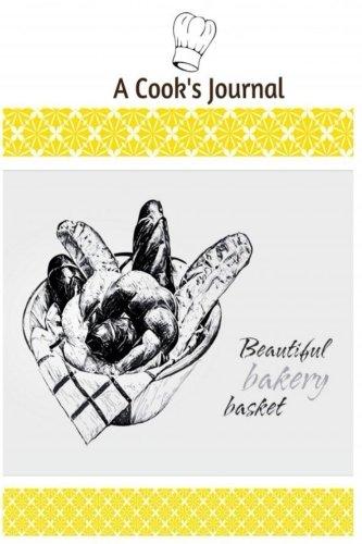 9781539046714: A Cook's Journal: 150 Blank Recipe Book 6x9