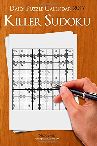 9781539068860: Daily Killer Sudoku Puzzle Calendar 2017 (Daily Puzzle Calendar 2017)
