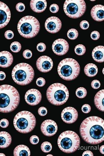 9781539110163: Journal: Black eyeball notebook