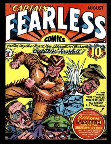 9781539120629: Captain Fearless Comics #1: Classic Golden Age Comic 1941