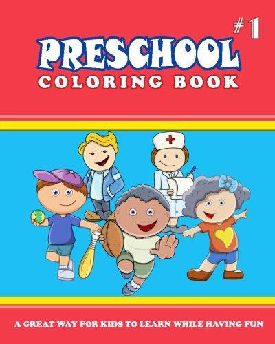 9781539132868: PRESCHOOL COLORING BOOK - Vol.1: preschool activity books (Volume 1)