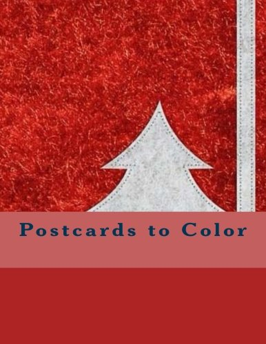 9781539156970: Postcards to Color: The Adult Coloring Book of Cards