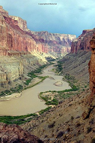 Aerial View of the Colorado River at the Grand Canyon Journal: 150 Page Lined Notebook/Diary: ...