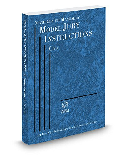 Ninth Circuit Manual of Model Jury Instructions: Reuters, Thomson