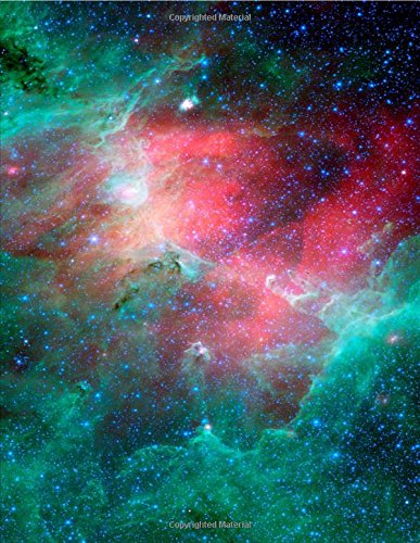 Carina Nebula Astronomy Journal: 150 Page Lined Notebook/Diary: CS Creations