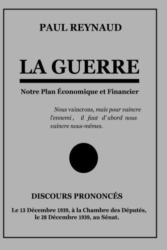 9781539448488: La Guerre (French Edition)