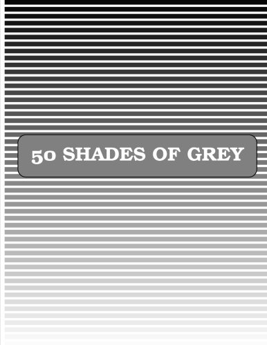 50 Shades of Grey (Paperback): Graph Paper and