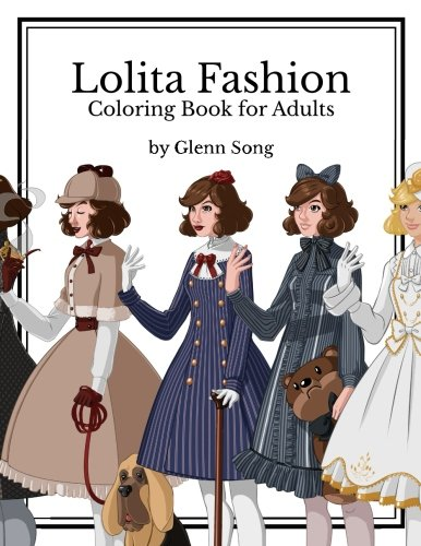 9781539470090: Lolita Fashion: Coloring Book for Adults