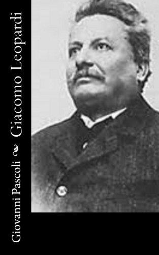 Giacomo Leopardi (Paperback): Giovanni Pascoli